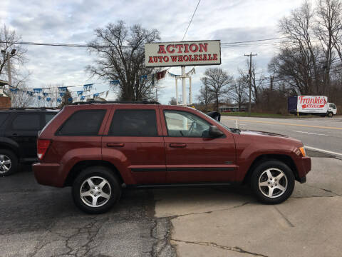 2007 Jeep Grand Cherokee for sale at Action Auto Wholesale in Painesville OH