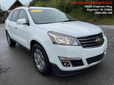 2016 Chevrolet Traverse for sale at Armenia Motors in Seymour TN