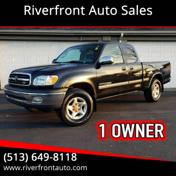 2000 Toyota Tundra for sale at Riverfront Auto Sales in Middletown OH