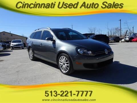2012 Volkswagen Jetta for sale at Cincinnati Used Auto Sales in Cincinnati OH
