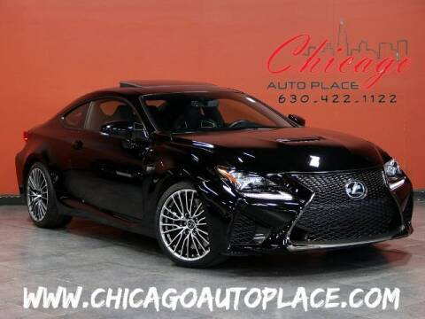 2015 Lexus RC F for sale at Chicago Auto Place in Bensenville IL
