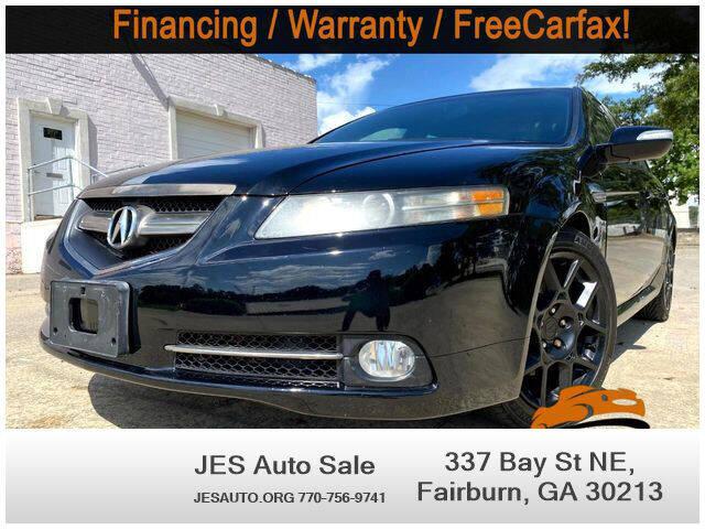 2007 Acura TL for sale at JES Auto Sales LLC in Fairburn GA
