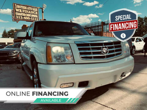 2005 Cadillac Escalade ESV for sale at 3 Brothers Auto Sales Inc in Detroit MI