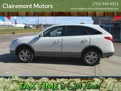 2007 Hyundai Veracruz for sale at Clairemont Motors in Eau Claire WI