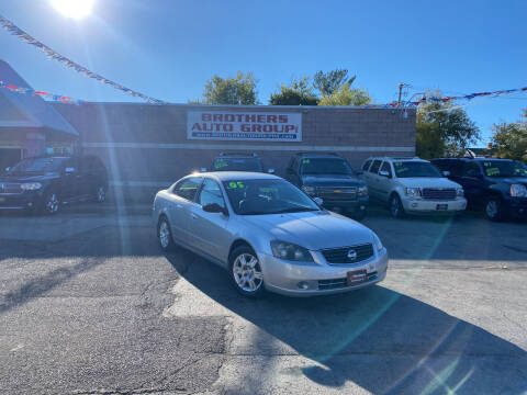 2005 Nissan Altima for sale at Brothers Auto Group in Youngstown OH