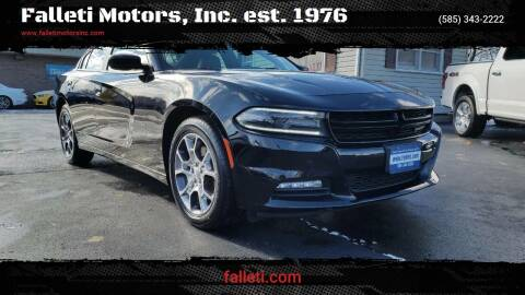 2015 Dodge Charger for sale at Falleti Motors, Inc.  est. 1976 in Batavia NY