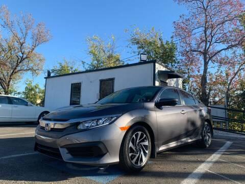 2016 Honda Civic for sale at Makka Auto Sales in Dallas TX