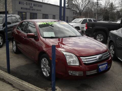 2006 Ford Fusion for sale at Weigman's Auto Sales in Milwaukee WI