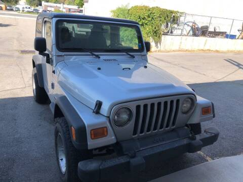 2005 Jeep Wrangler for sale at Select AWD in Provo UT