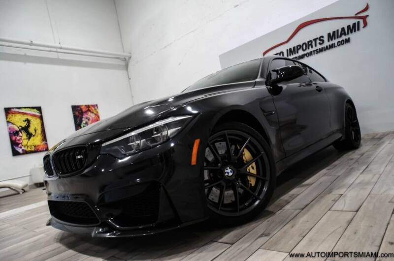 2019 BMW M4 for sale at AUTO IMPORTS MIAMI in Fort Lauderdale FL