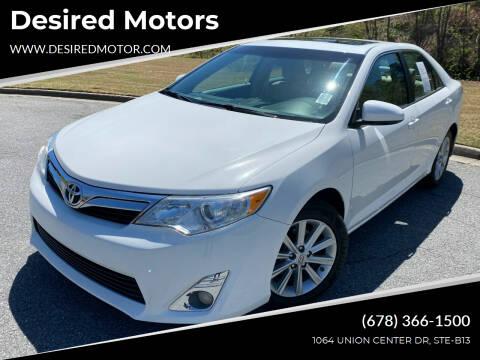 2014 Toyota Camry for sale at Desired Motors in Alpharetta GA
