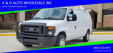 2013 Ford E-Series Cargo for sale at K & O AUTO WHOLESALE INC in Jacksonville FL