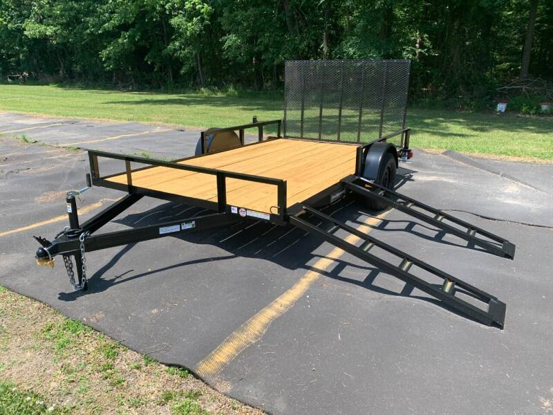 2021 New Triple Crown 7x12 ATV Utility Trailer for sale at Tripp Auto & Cycle Sales Inc in Grimesland NC