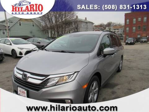 2018 Honda Odyssey for sale at Hilario's Auto Sales in Worcester MA