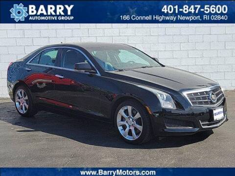 2013 Cadillac ATS for sale at BARRYS Auto Group Inc in Newport RI