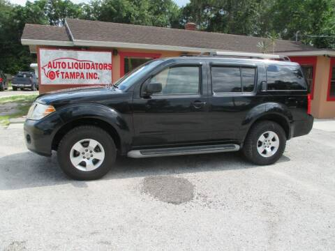2008 Nissan Pathfinder for sale at Auto Liquidators of Tampa in Tampa FL