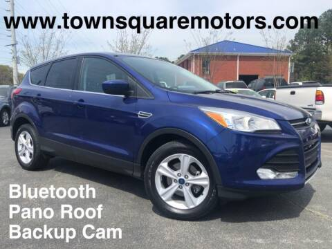 2016 Ford Escape for sale at Town Square Motors in Lawrenceville GA