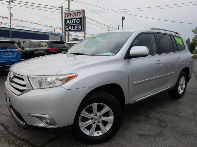 2012 Toyota Highlander for sale at TRI CITY AUTO SALES LLC in Menasha WI