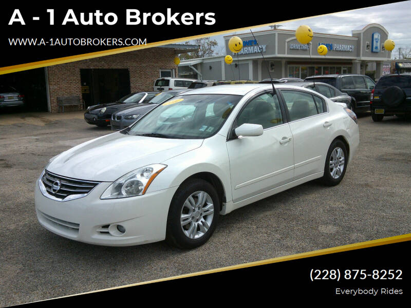 2012 Nissan Altima for sale at A - 1 Auto Brokers in Ocean Springs MS