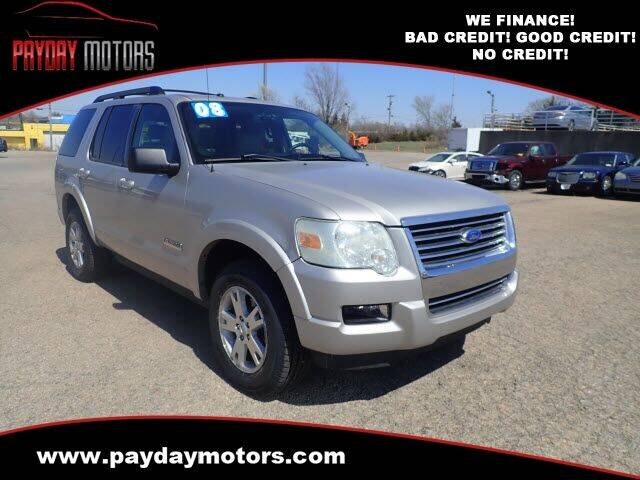 2008 Ford Explorer for sale at Payday Motors in Wichita And Topeka KS