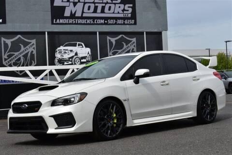 2018 Subaru WRX for sale at Landers Motors in Gresham OR