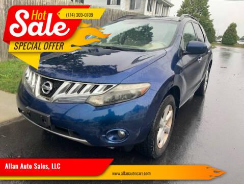 2009 Nissan Murano for sale at Allan Auto Sales, LLC in Fall River MA