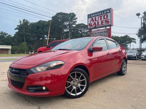 2015 Dodge Dart for sale at Carafello's Auto Sales in Norfolk VA