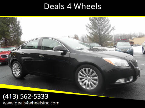2012 Buick Regal for sale at Deals 4 Wheels in Westfield MA