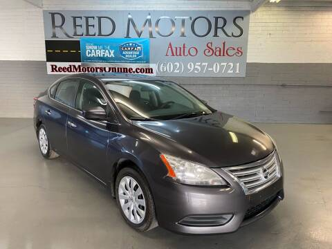 2013 Nissan Sentra for sale at REED MOTORS LLC in Phoenix AZ