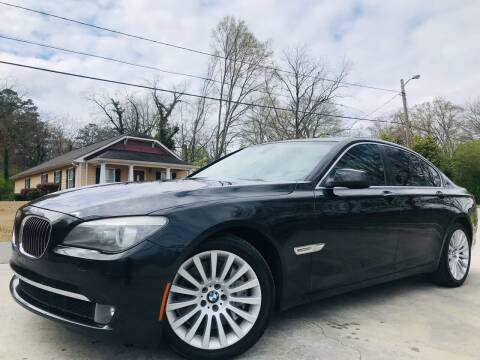 2012 BMW 7 Series for sale at Cobb Luxury Cars in Marietta GA