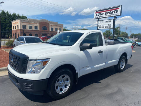2017 Nissan Titan for sale at Auto Sports in Hickory NC