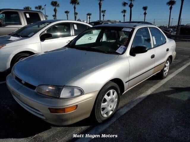 1996 GEO Prizm for sale at Matt Hagen Motors in Newport NC