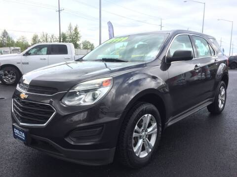 2016 Chevrolet Equinox for sale at Delta Car Connection LLC in Anchorage AK