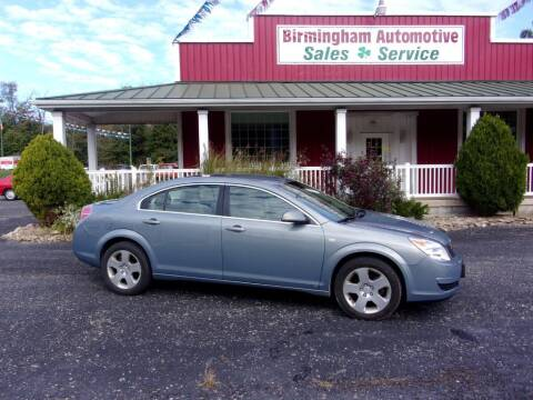 2009 Saturn Aura for sale at Birmingham Automotive in Birmingham OH