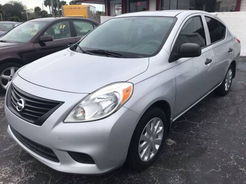 2012 Nissan Versa for sale at AFFORDABLE AUTO SALES in We Finance Everyone! FL