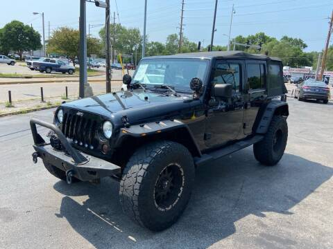2010 Jeep Wrangler Unlimited for sale at Smart Buy Car Sales in St. Louis MO