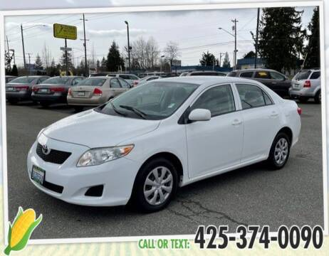 2010 Toyota Corolla for sale at Corn Motors in Everett WA