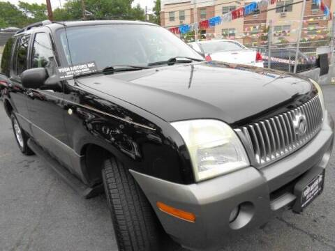 2004 Mercury Mountaineer for sale at Yosh Motors in Newark NJ