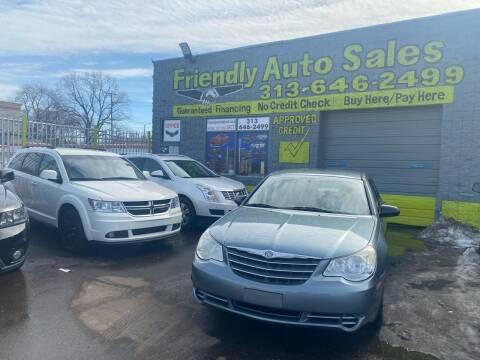 2010 Chrysler Sebring for sale at Friendly Auto Sales in Detroit MI