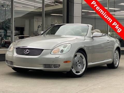2002 Lexus SC 430 for sale at Carmel Motors in Indianapolis IN