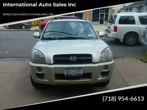 2006 Hyundai Tucson for sale at International Auto Sales Inc in Staten Island NY