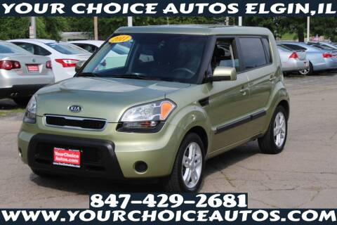 2011 Kia Soul for sale at Your Choice Autos - Elgin in Elgin IL