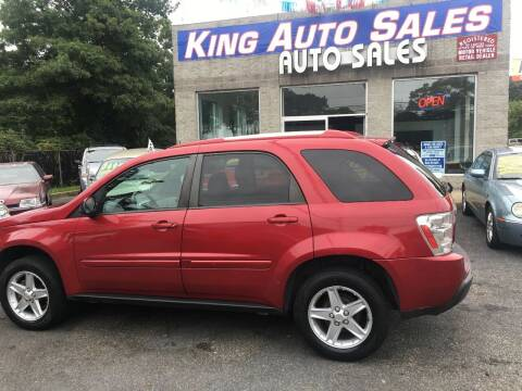 2005 Chevrolet Equinox for sale at King Auto Sales INC in Medford NY
