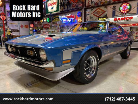 1971 Ford Mustang for sale at Rock Hard Motors Inc in Treynor IA