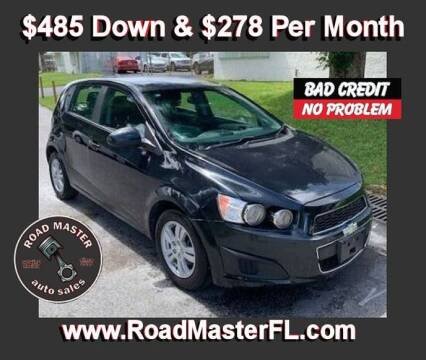 2014 Chevrolet Sonic for sale at Roadmaster Auto Sales in Pompano Beach FL