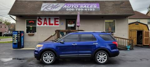 2013 Ford Explorer for sale at Ritz Auto Sales, LLC in Paintsville KY