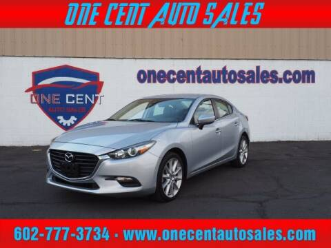2017 Mazda MAZDA3 for sale at One Cent Auto Sales in Glendale AZ