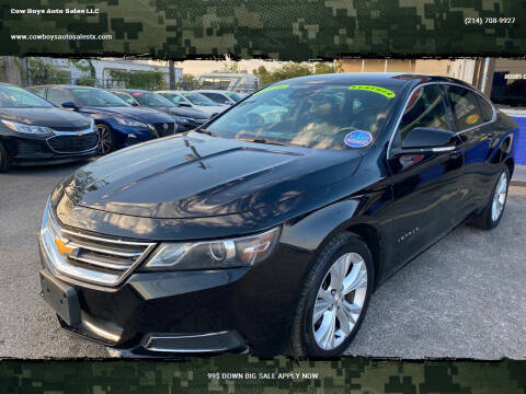 2015 Chevrolet Impala for sale at Cow Boys Auto Sales LLC in Garland TX