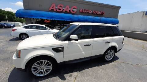 2010 Land Rover Range Rover Sport for sale at ASAC Auto Sales in Clarksville TN