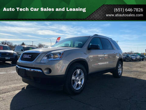 2011 GMC Acadia for sale at Auto Tech Car Sales and Leasing in Saint Paul MN